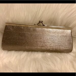 SILVER METALLIC FRAME EVENING CLUTCH ✨